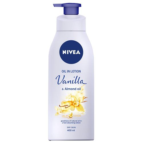 Nivea Oil In Lotion - Vanilla & Almond Oil, 400 ml