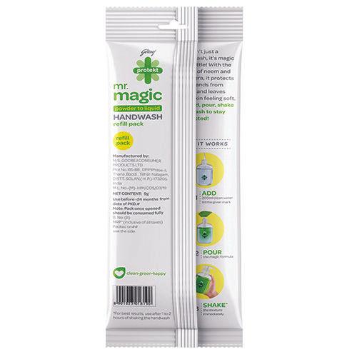 Godrej Protekt Mr Magic Handwash Refills, 9 g