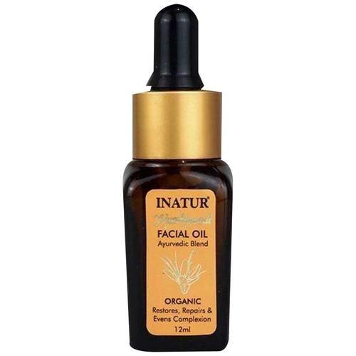INATUR  Kumkumadi Ayurvedic Facial Oil, 12 ml