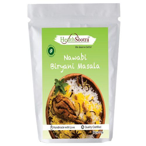 Healthsootra Nawabi Biryani Masala, 70 g