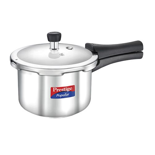 Prestige Popular Stainless Steel Pressure Cooker, 3 L