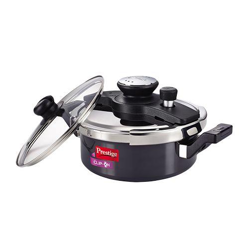 8b0321563 Buy Prestige Duo HA Clip On Pressure Cooker Online at Best Price - bigbasket
