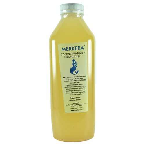 Merkera Natural Coconut Vinegar, 1 L