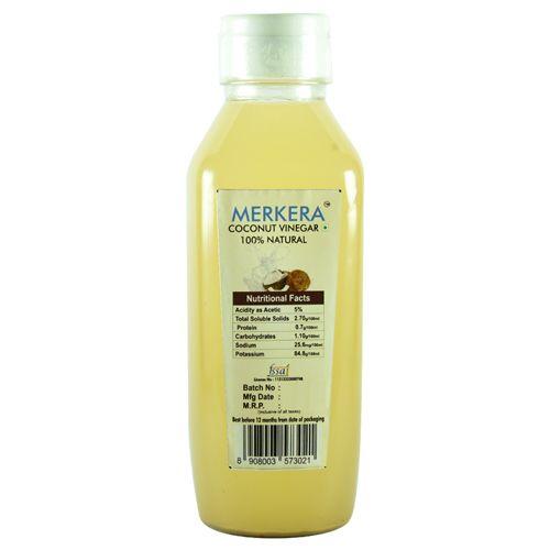 Merkera Natural Coconut Vinegar, 500 ml