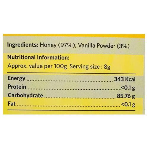 Honey Twigs Vanilla Infused Honey, 80 g Box