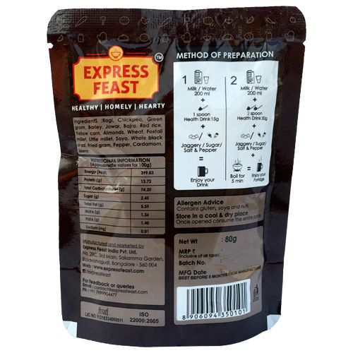 Express Feast Health Drink - Ready To Eat, 80 g