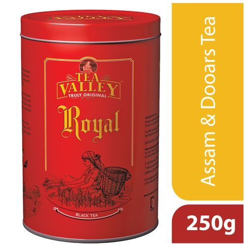 Tea Valley Black Tea - Royal, 250 g Tin