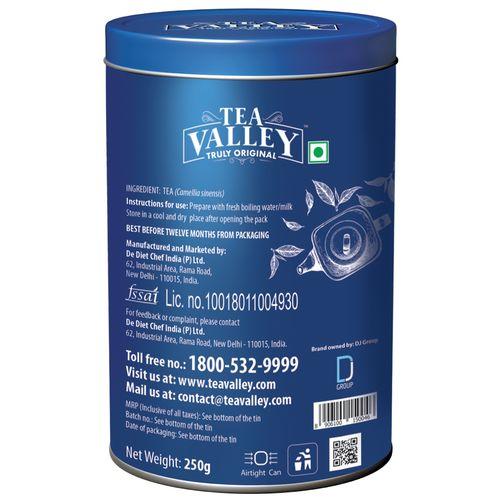 Tea Valley Black Tea - Classic, 250 g Tin