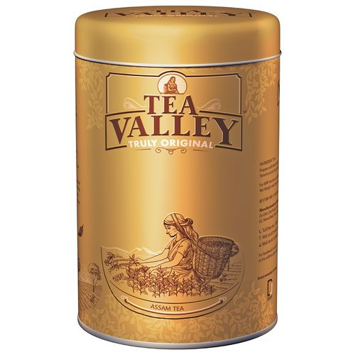 Tea Valley Assam Tea - Truly Original, 250 g Tin