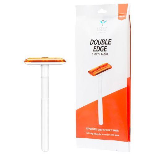 Bombay Shaving Company Double Edge Safety Razor - Orange, 1 pc