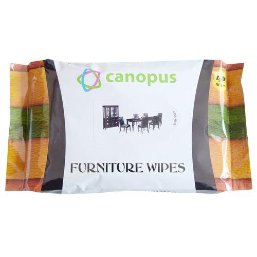 Canopus Furniture Wet Wipes, 40 Pulls