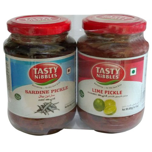 Tasty Nibbles SardinePickle, 400 g Get 400 gm Lime Pickle Free