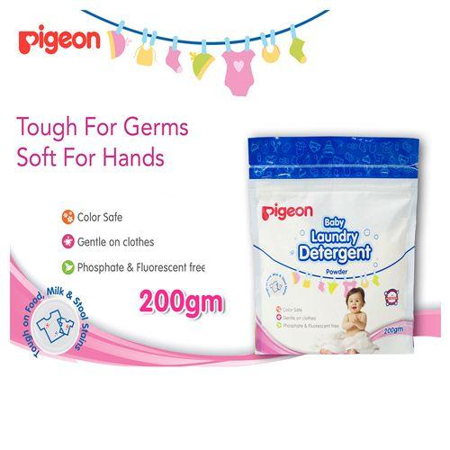 Pigeon Baby Laundry Detergent - Powder, 200 g