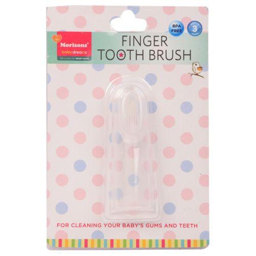 Morisons Baby Dreams Finger Toothbrush, 1 pc
