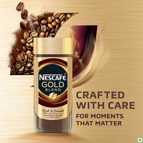 Buy Nescafe Gold Instant Coffee Powder - Gold, Signature ...