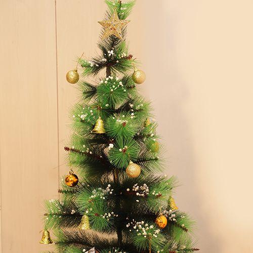 DP Christmas-Xmas Decorative Tree - Green, BB1126 GRN, 3 ft