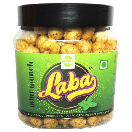 Laba Makhana - Mint Munch Flavoured, Roasted, Olive Oil, 90 g