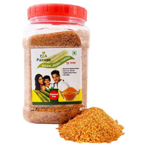 Paawak Natural Jaggery/Gul Powder, 500 g Pet Jar
