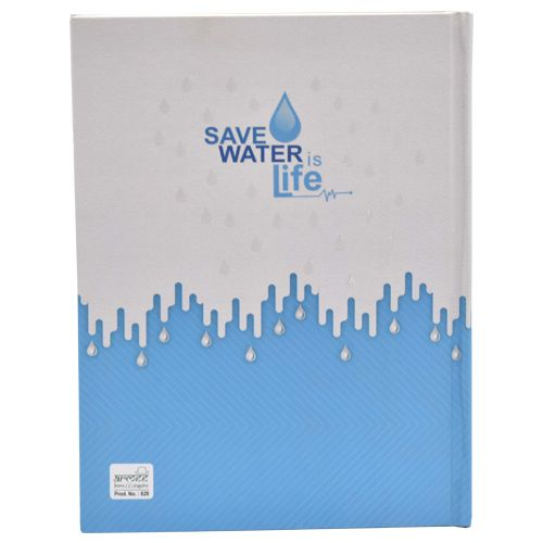 Cubic Save Water Executive Diary 2019 - B5 Size, Multicolour, 1 pc