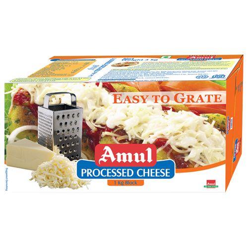 Amul Processed Cheese - ETG Block, 1 kg