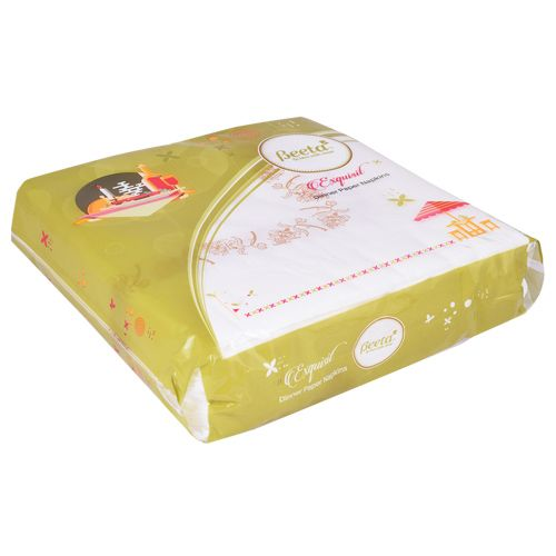 Beeta Exquisit - Paper Napkin, Dinner, 2 Ply, 50 Pulls