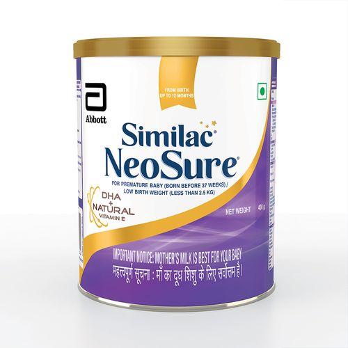 Similac Neosure IQ+ Infant Formula - DHA + Natural Vitamin E, Upto 12 months, 400 g