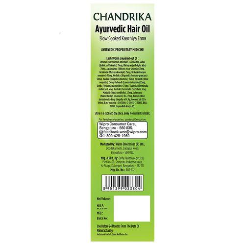 Chandrika  Ayurvedic Hair Oil, 95 ml