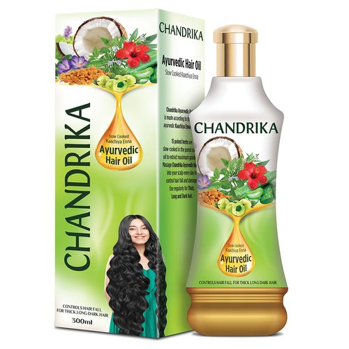 Chandrika  Ayurvedic Hair Oil, 300 ml