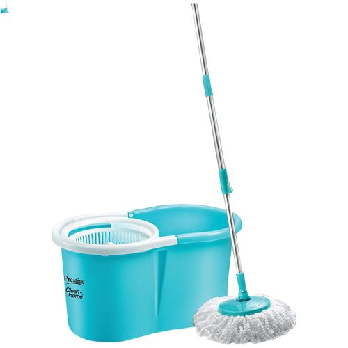 Prestige Magic Floor Mop With 2 Refill - PSB04 Deluxe, Blue, 1 pc