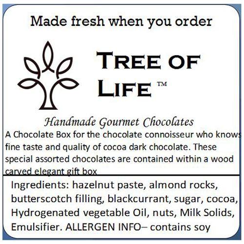 Tree Of Life Gift Box - Signature 45% Cocoa Chocolate, 200 gm