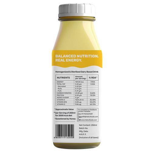 Yogic Energy Shake - Banana, 8G Protein & No Refined Sugar, 250 ml
