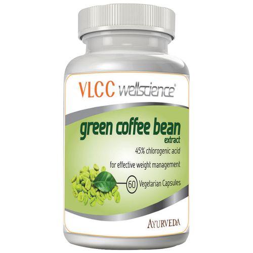 Vlcc Wellscience Capsules -Green Coffee Bean Extract, 60 pcs