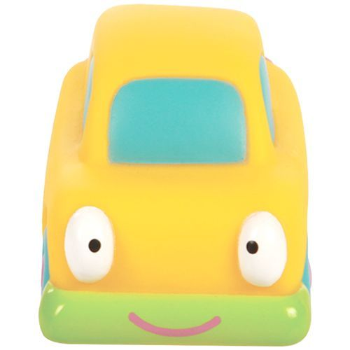 Mee Mee Floating Squeezy Bath Toys - Yellow Car, 1 pc