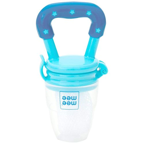 Mee Mee Fruit & Food Nibbler - Dark Blue/Light Blue, 1 pc