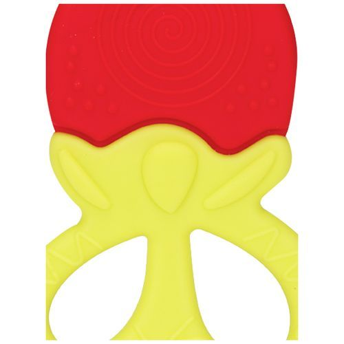 Mee Mee Multi-Textured Silicone Teether - Red, 1 pc