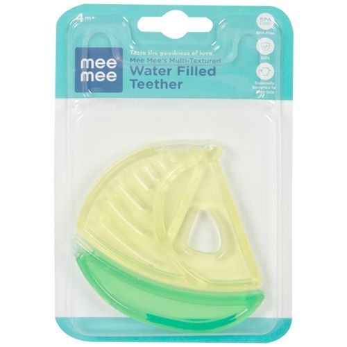 Mee Mee Multi-Textured Water Filled Teether - Multicolour, 1 pc