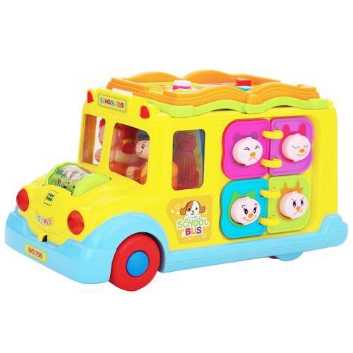 Mee Mee Intelligent School Bus - Multicolour, 1 pc