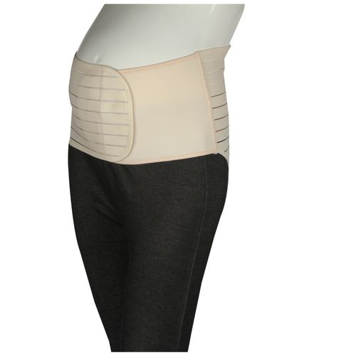 Mee Mee Post Natal Maternity Support Corset Belt - Large, Beige, 1 pc