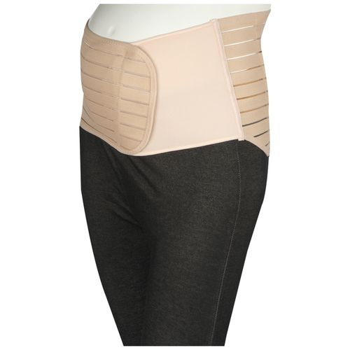 Mee Mee Post Natal Magnetic Maternity Support Corset Belt - X-Large, Pink, 1 pc