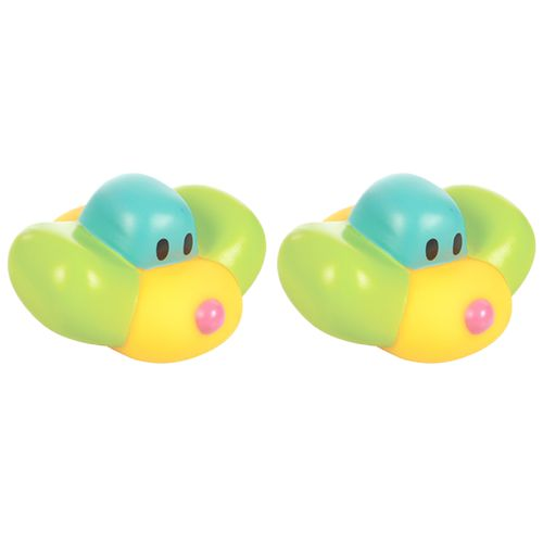 Mee Mee Floating Squeezy Bath Toys - Multicolour, 2 pcs
