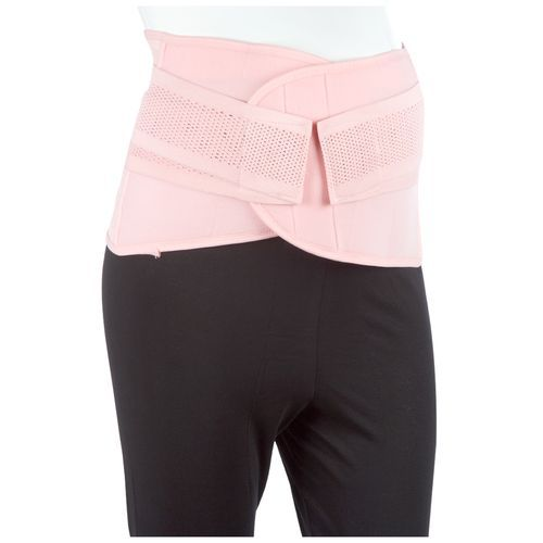 Mee Mee Post Natal Maternity Support Corset Belt - Large, Pink, 1 pc