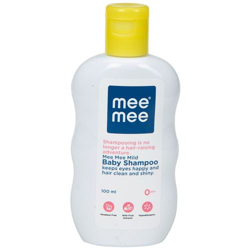 Mee Mee Mild Baby Shampoo With Fruit Extracts, 100 ml
