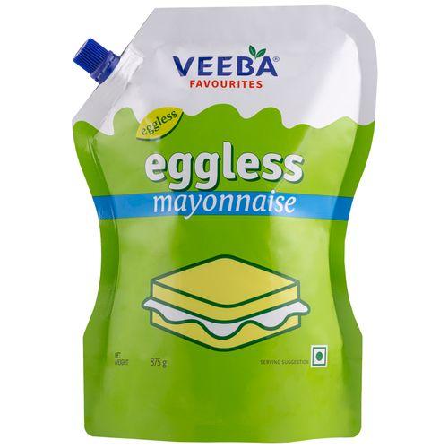 Veeba Eggless Mayonnaise, 875 g Standy Pouch