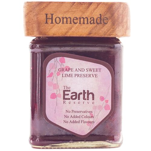 The Earth Reserve All Natural Grape & Sweet Lime Preserve, 300 g