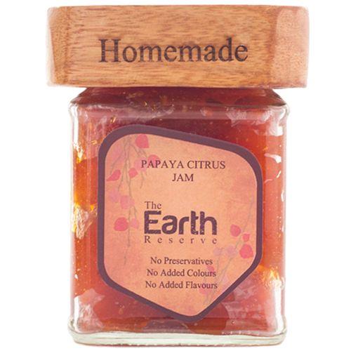 The Earth Reserve All Natural Papaya Citrus Jam, 300 g