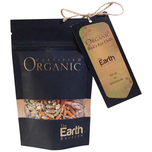 The Earth Reserve Organic Sun Dried Bird's Eye Chilli, 40 g