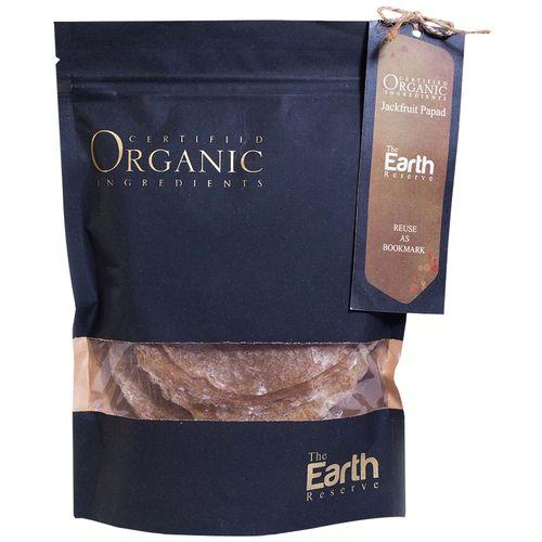 The Earth Reserve Organic Jackfruit Papad, 10 pcs
