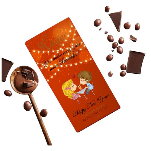 Rage You Make Every Year More Beautiful Chocolate Bar - Signature Blend, 90 g