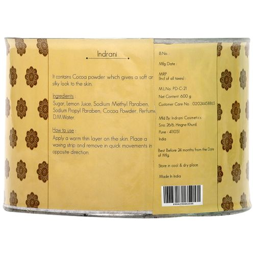 Indrani Chocolate Wax, 600 g
