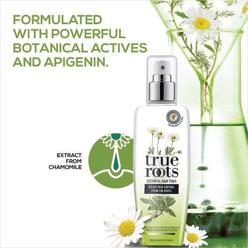 True Roots Botanical Hair Tonic To Delay Hair Greying, 75 ml